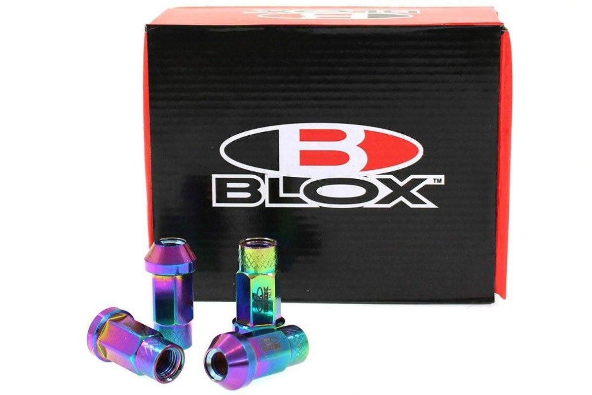 Nakrętki Blox Replica 50mm M12x1.5 Neo - GRUBYGARAGE - Sklep Tuningowy